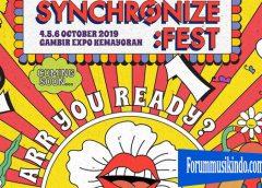 Band Melayu Ikut Serta Dalam Festival Synchronize 2019