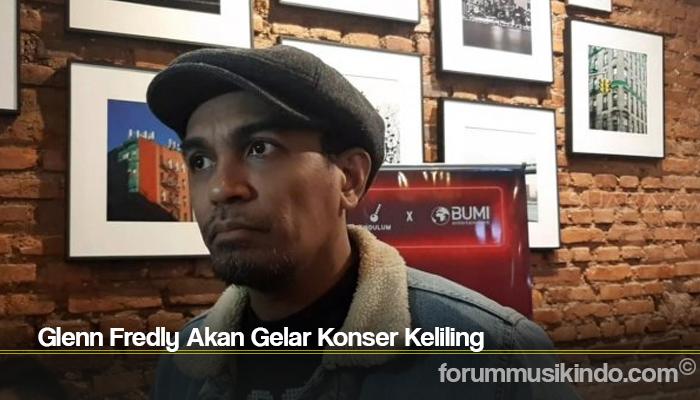 Glenn Fredly Akan Gelar Konser Keliling