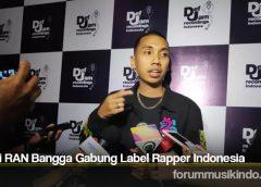 Rayi RAN Bangga Gabung Label Rapper Indonesia