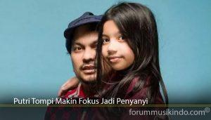 Putri Tompi Makin Fokus Jadi Penyanyi