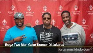 Boyz Two Men Gelar Konser Di Jakarta