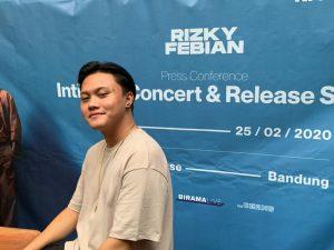 Rizky Febian Bikin Label Musik Sendiri